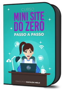 curso mini site do zero passo a passo